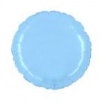 """Folie Rond 18"""" - Baby Blauw"""