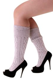 Tiroler sokken kort Grijs - maat 39/42 (11170P)