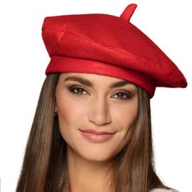 Alpino pet / franse baret rood (62001B)