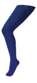 Panty volwassenen normaal  Donkerblauw (59007E)