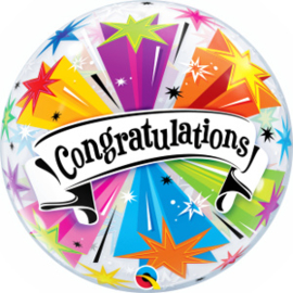 Bubble Congratulations Banner Blast (41190Q)