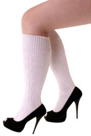 Tiroler sokken kort Ecru - maat 39/42 (11168P)