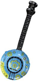 Banjo gitaar opblaasbaar - 88 cm (20257F)