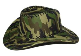 Leger cowboyhoed camouflage (51141E)