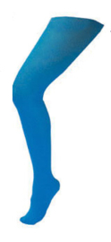 Panty volwassenen normaal  Lichtblauw (59007E)