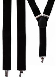 Bretel Zwart 3,5 cm breed (10040P)