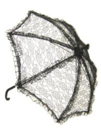Bydemeyer paraplu zwart klein scherm - 65 cm (85282P)