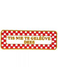 Strijkapplicatie Brabant - Nie te Geleuve (05005B)