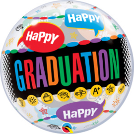 Bubble Happy Graduation - Congrats Grad (55800Q)