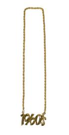 Gouden ketting 1960's (53474E)