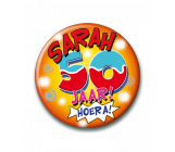 Button 50 jaar Sarah