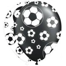 Ballonnen Voetbal - 8 stuks (26205F)