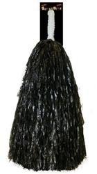 Pom pom cheerleader zwart (0402GF)