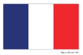 Vlag Frankrijk - 90 x 150 cm (62119E)
