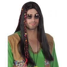 Pruik hippie Jimi (86368B)