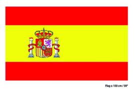 Vlag Spanje - 90 x 150 cm (62161E)