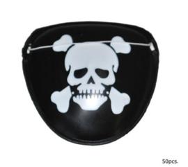 Ooglapje piraat - 1 stuk (31524E)