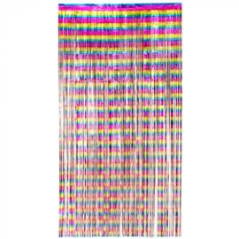 Folie deurgordijn Regenboog 100 x 200 cm (44733B)