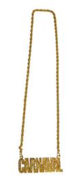 Gouden ketting Carnaval (53484E)