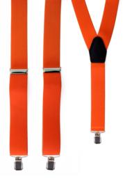 Bretel Oranje 3,5 cm breed (10045P)