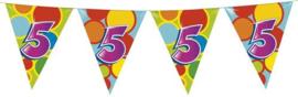 Vlaggenlijn ballonnen 5 (405505H)