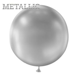 Metallic Zilver 1 stuks 45 cm (PT150/36)