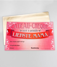Cadeau-cheque LIEFSTE MAMA (02PD)
