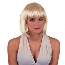 Bobline pruik Platina Blond (57324E)