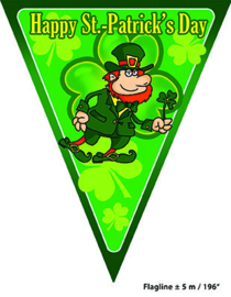 Vlaggenlijn Saint Patrick - 5 meter (84373E)