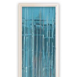 Folie deurgordijn Blauw 100 x 250 cm (13012W)