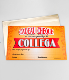 Cadeau-cheque COLLEGA (36PD)
