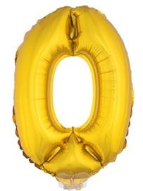 Folie Cijfers Goud 41 cm