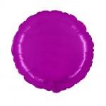 "Folie Rond 18"" - Violet Paars"