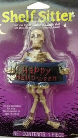 Skeleton Shelf Sitter - Happy Halloween (2973GF)