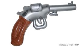 Revolver opblaasbaar - 50 cm (50334E)