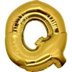 Folie Letter Q - 100 cm Goud