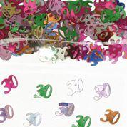 Tafelconfetti - sierconfetti  - 30 jaar (05314F)