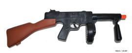 Tommy Gun met geluid  - 50 cm (51204E)