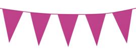 Vlaggenlijn Knal Roze / Hot Pink 10 meter (74758B)