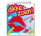 Wenskaart DIKKE ZOEN