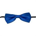 Vlinderstrik Blauw 13,5cm (46503W)