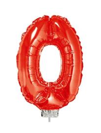 Folie Cijfers Rood 41 cm