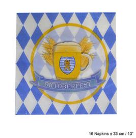 Servetten Oktoberfest / Bierfeest (84369E)