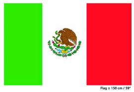 Vlag Mexico - 90 x 150 cm (62159E)