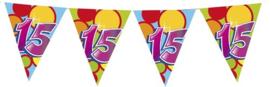 Vlaggenlijn ballonnen 15 (405549H)