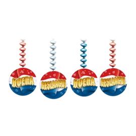 Spiraal Hangdecoratie Geslaagd - 3 stuks (H435712W)