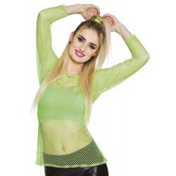 Visnet shirt neon Groen (01934B)