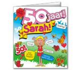 Wenskaart 50 jaar SARAH