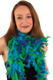 Boa Blauw / Groen 50 gram / 180 cm (64437P)