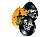 Ballonnen Halloween mix - 8 stuks (08244F)